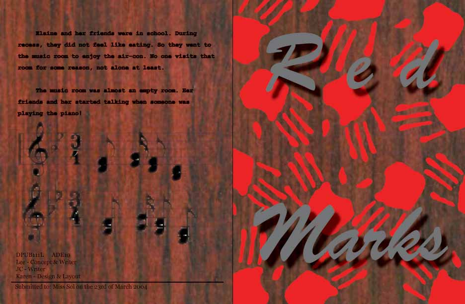 Red Marks Cover